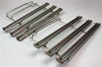 Telescopic oven rails, Bosch cooker & hobs (right and left, with 3 telescopic rails)