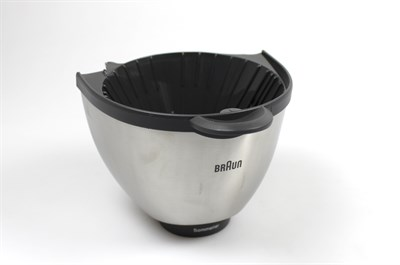 Filter holder basket, Braun coffee maker - Gray