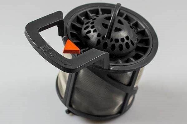 Mesh filter, Electrolux dishwasher Gray