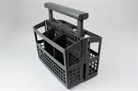 Cutlery basket, AEG dishwasher - 245 mm x 139 mm (64 mm - 11 mm - 64 mm) x 246 mm