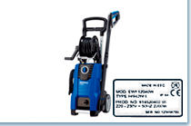Model number Pressure washer