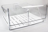 Vegetable crisper drawer, Arthur Martin fridge & freezer - Clear