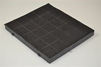 Carbon filter, Upo cooker hood - 230 mm x 260 mm