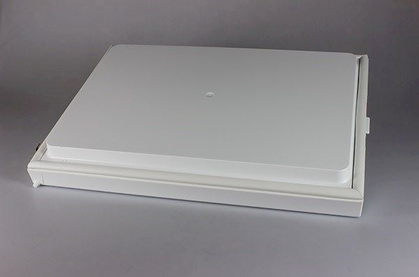 Freezer compartment flap, AEG-Electrolux fridge & freezer - 329 mm x 446 mm
