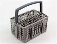 Cutlery basket, universal dishwasher - 225 mm x 160 mm x 230 mm