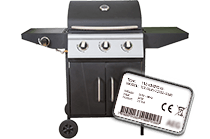 Model number Gas bbq