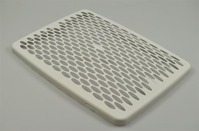 Cover for metal filter, Asko cooker hood - 378 mm x 381 mm