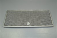 Carbon filter, Voss cooker hood - 205 mm x 505 mm