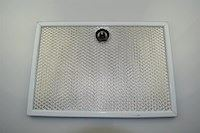 Metal filter, Exhausto cooker hood - 8 mm x 267 mm x 184 mm