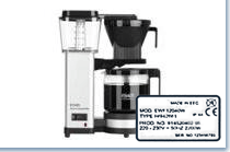 Model number Coffee maker