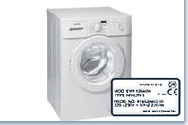 Model number Washing machine