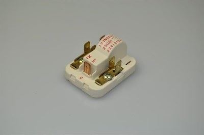 Start relay, Danfoss fridge & freezer (103N0002)