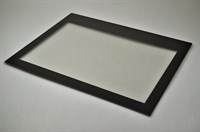 Oven door glass, Arthur Martin-Electrolux cooker & hobs - 392 mm x 504 mm (inner glass)
